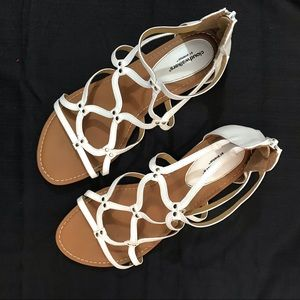 White Sandals by Avenue